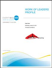 Everything DiSC® Work of Leaders™ Report
